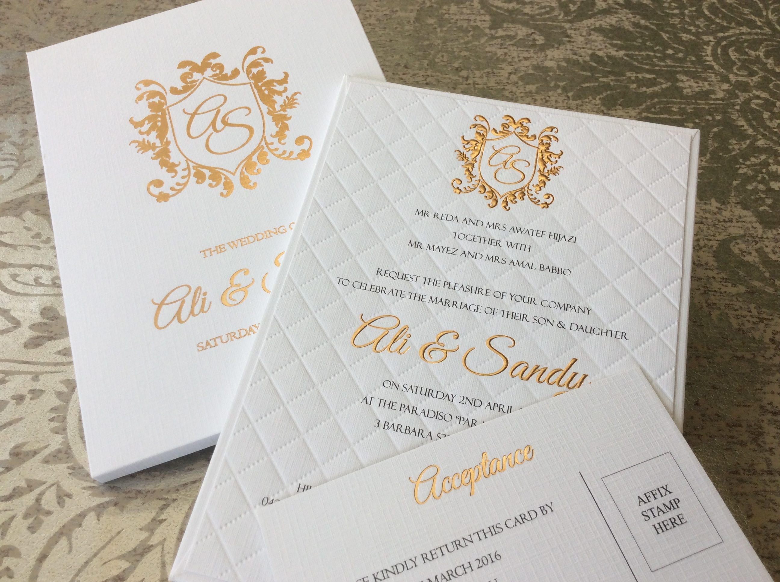 My Design Gallery: Wedding Invitations