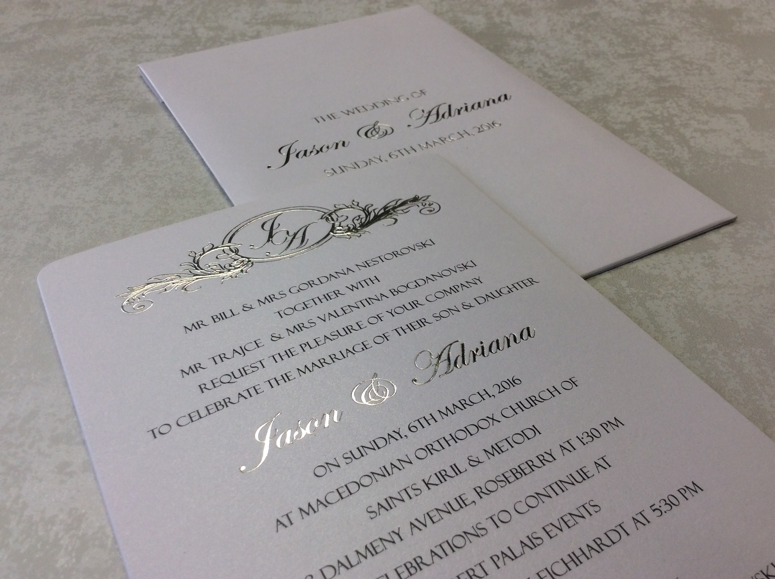 My Design Gallery : Wedding Invitations